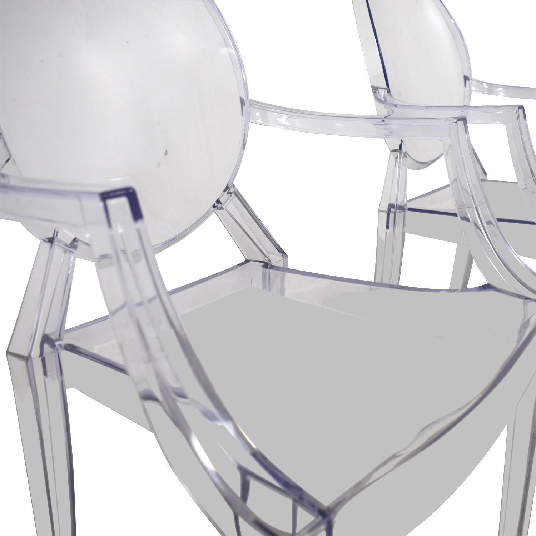CB2 Acrylic Chairs / Chairs