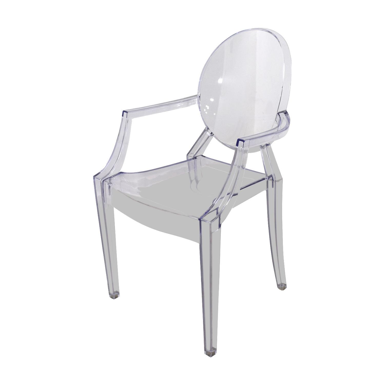 CB2 CB2 Acrylic Chairs Chairs
