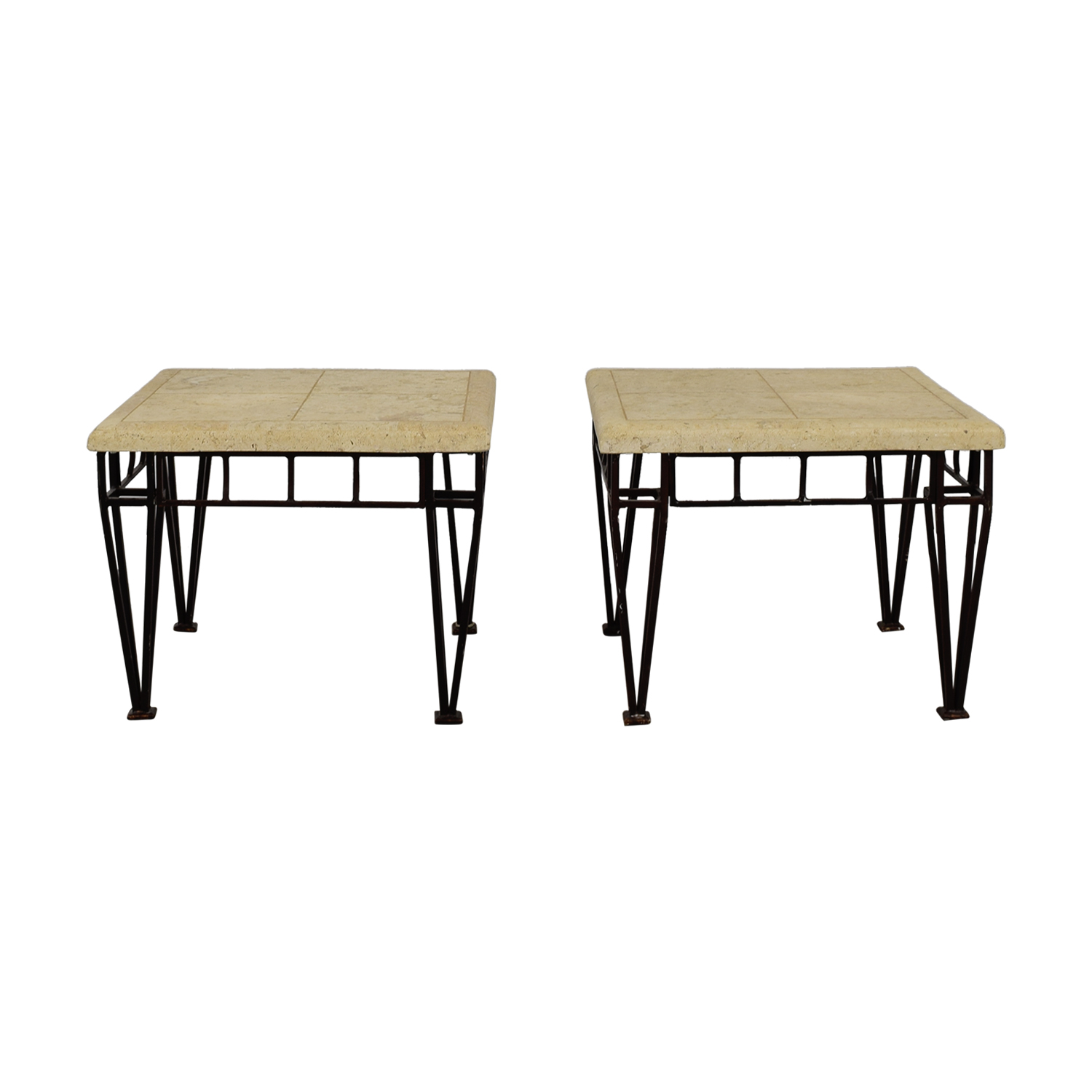 Stone Top End Tables on sale