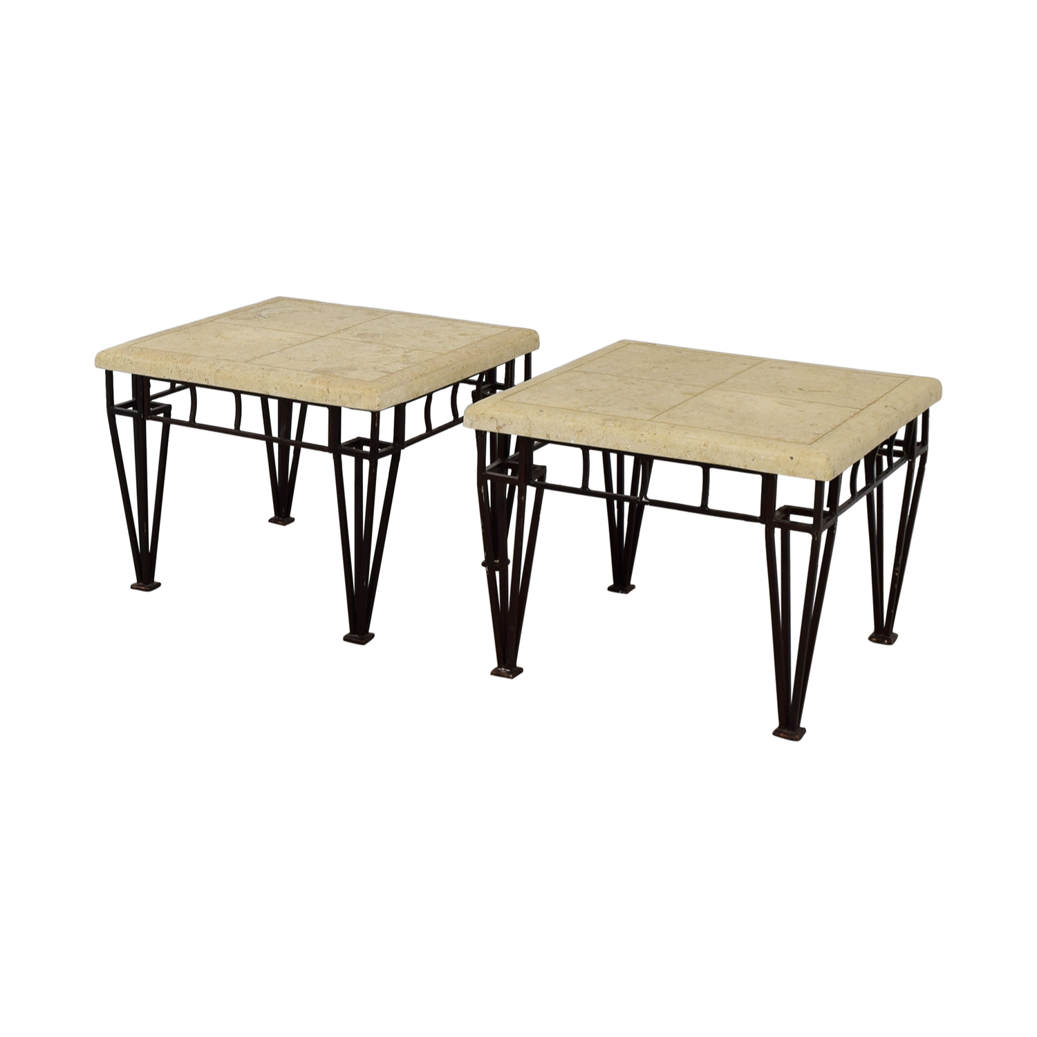 Stone Top End Tables nj