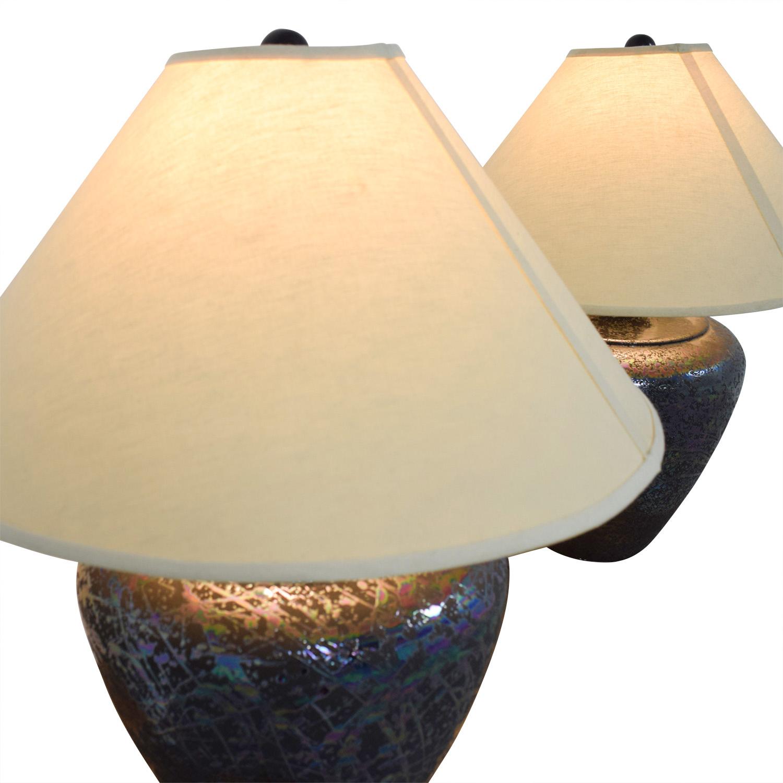... Shop Wide Base Table Lamps