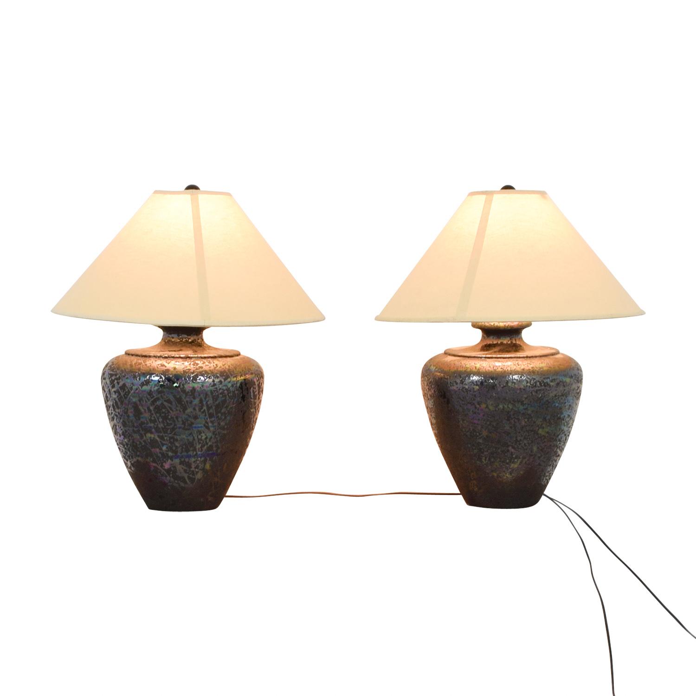 shop Wide Base Table Lamps  Lamps