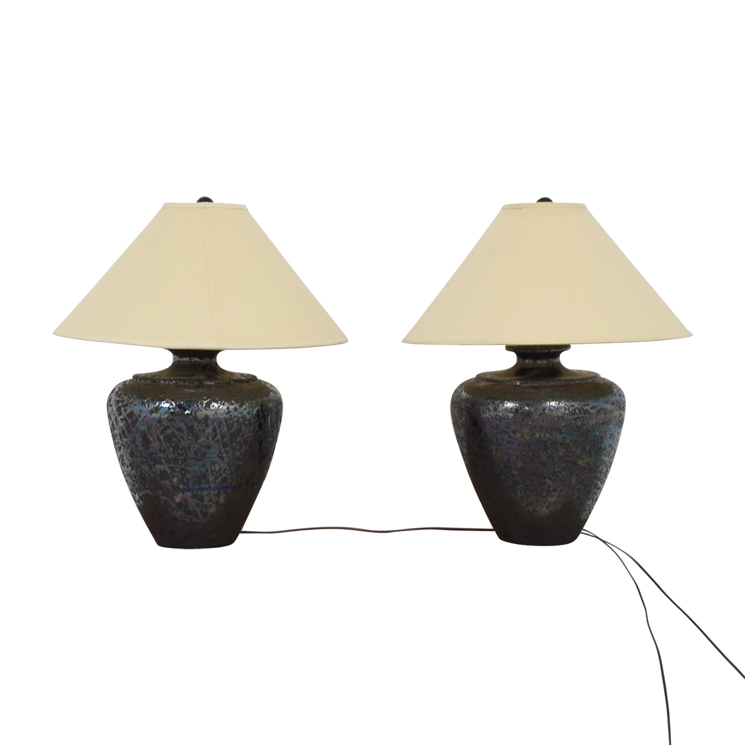 89 Off Wide Base Table Lamps Decor