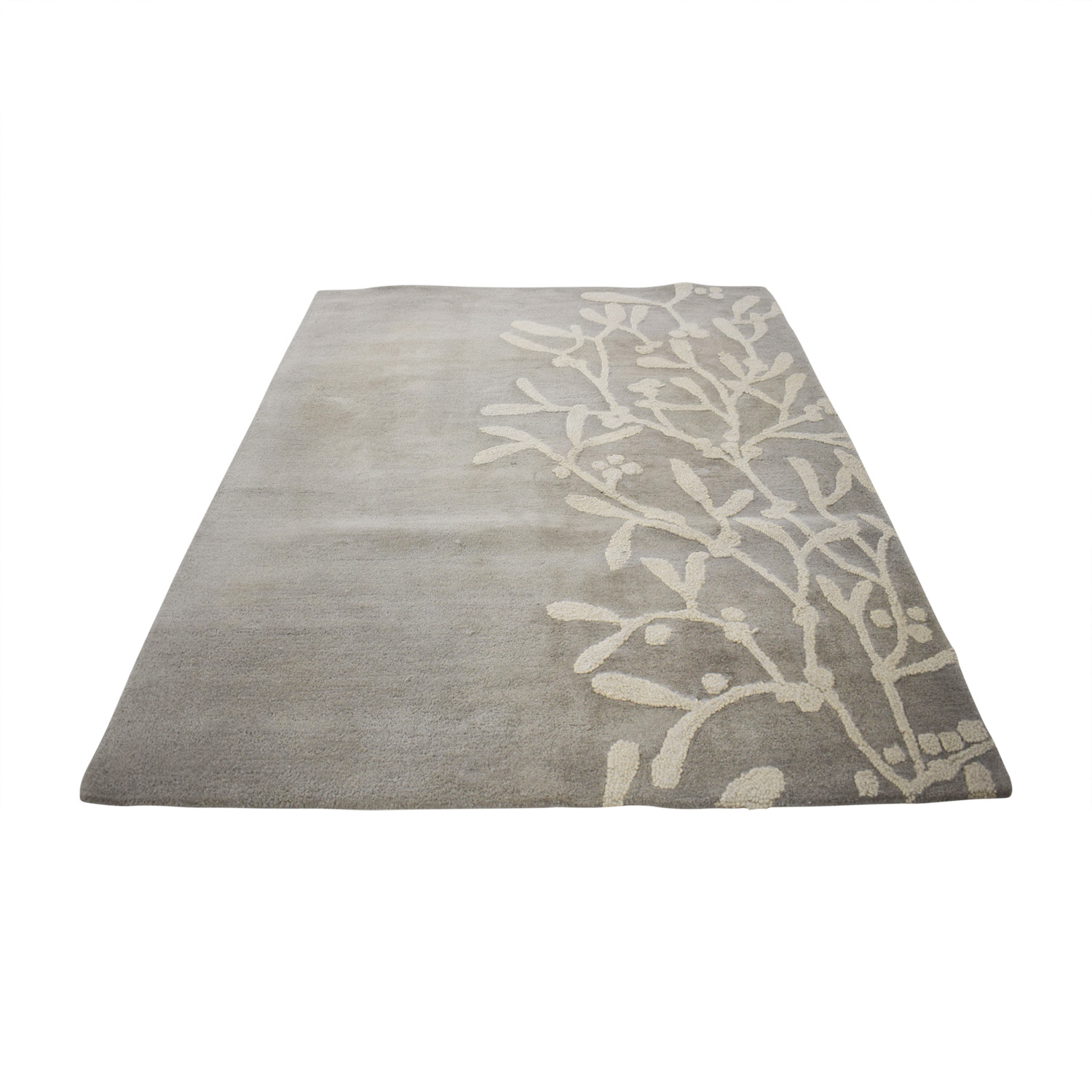 Next Next Grey and White Rug nj