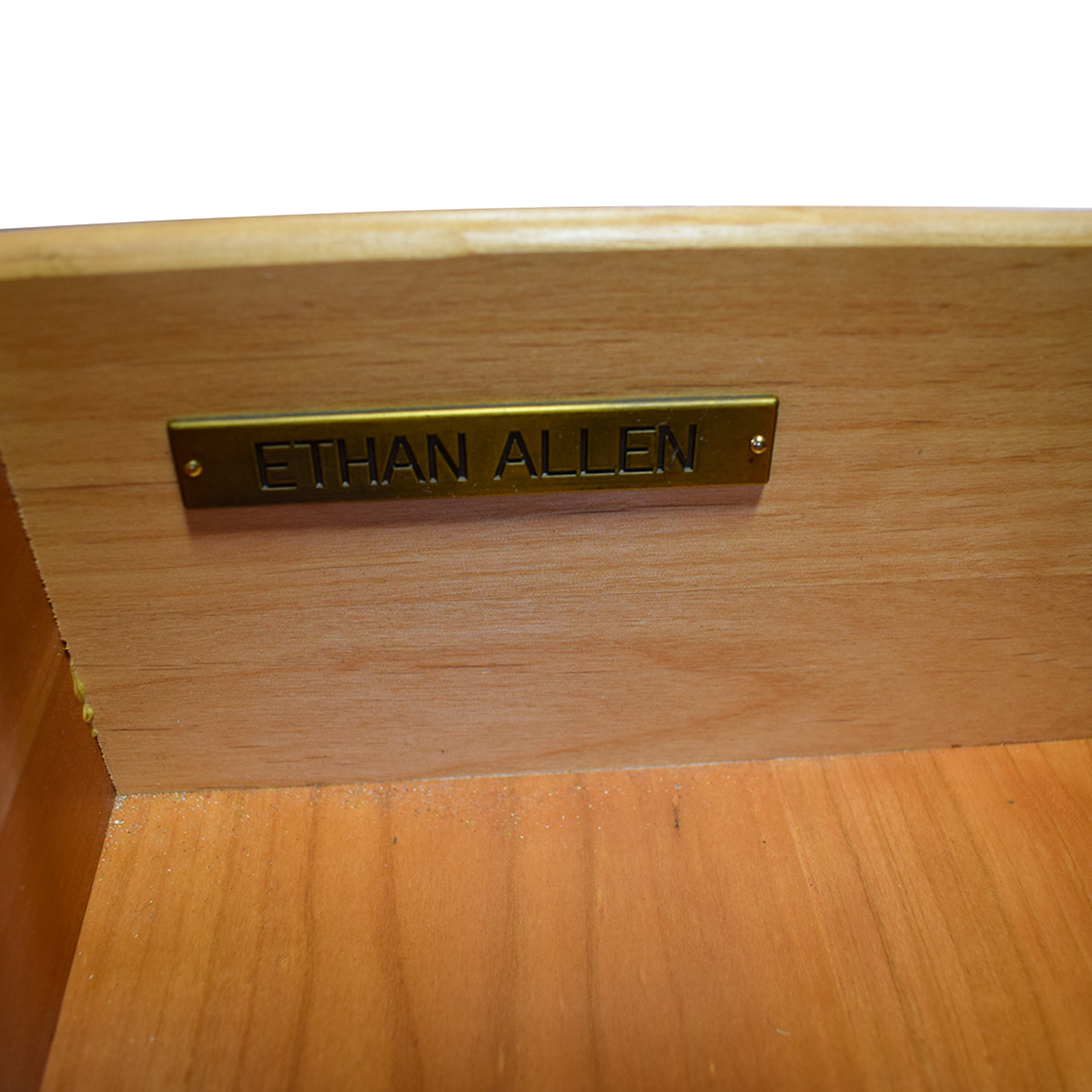 Ethan Allen Ethan Allen Wood Media Center with Drawers and Shelves on sale