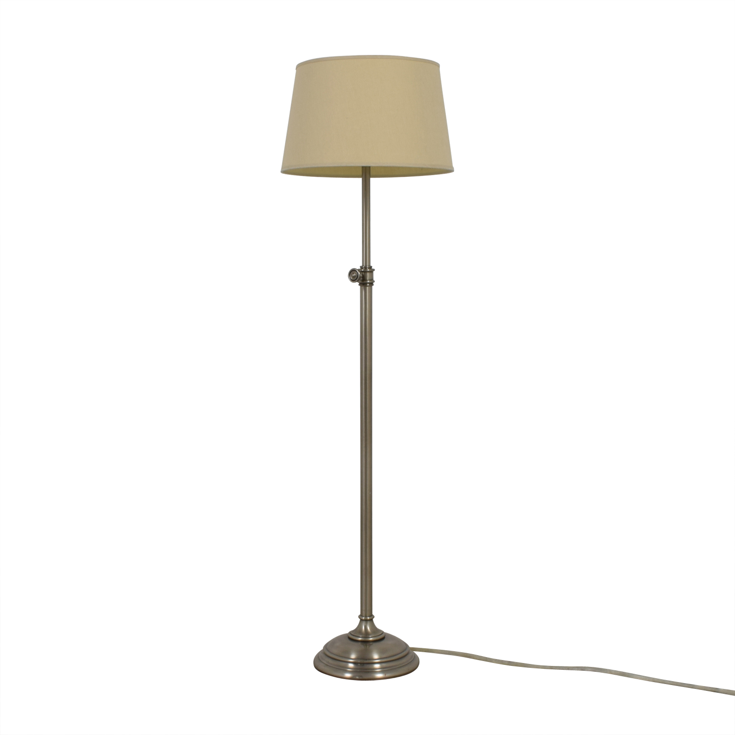 Restoration Hardware Library Floor Lamp sale