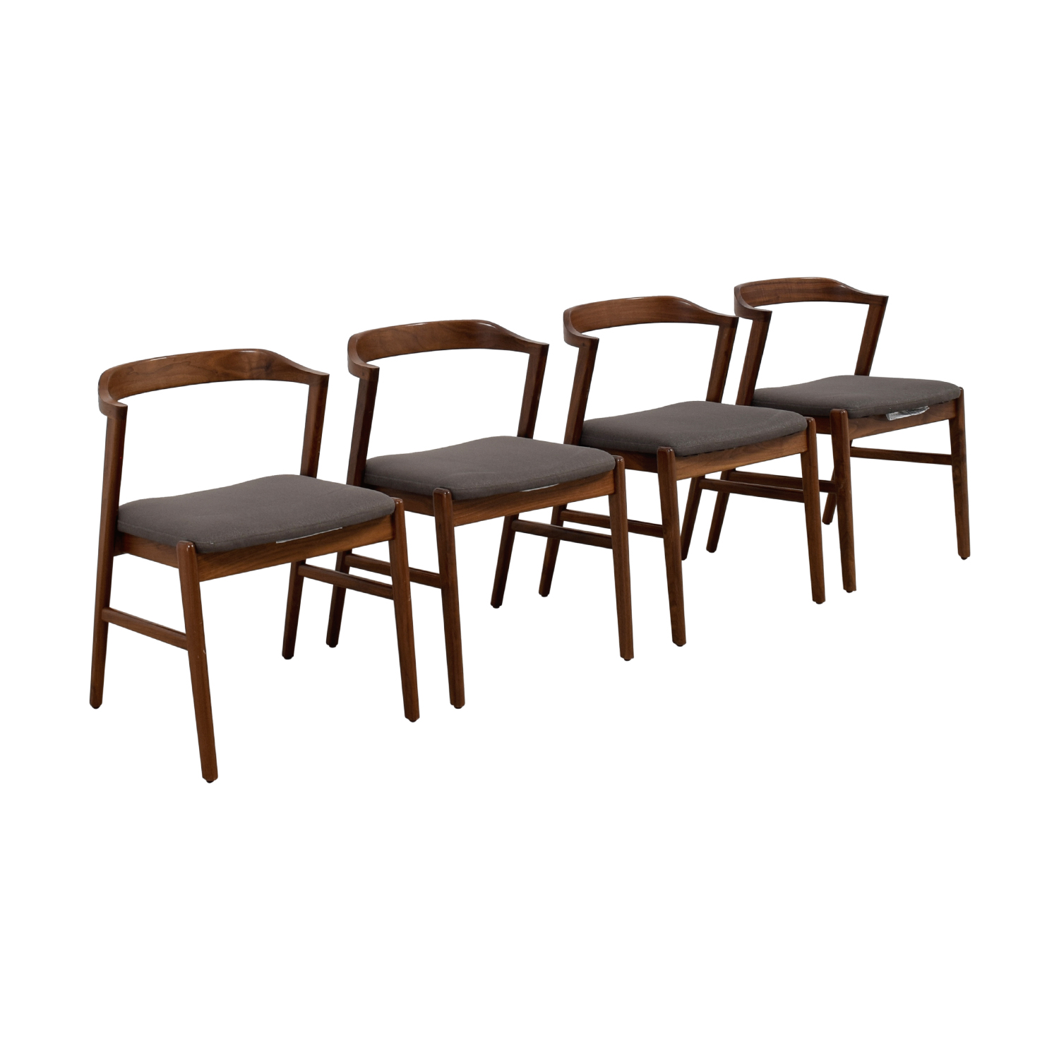 Room & Board Room & Board Jansen Side Chair in Merit Fabric Dining Chairs