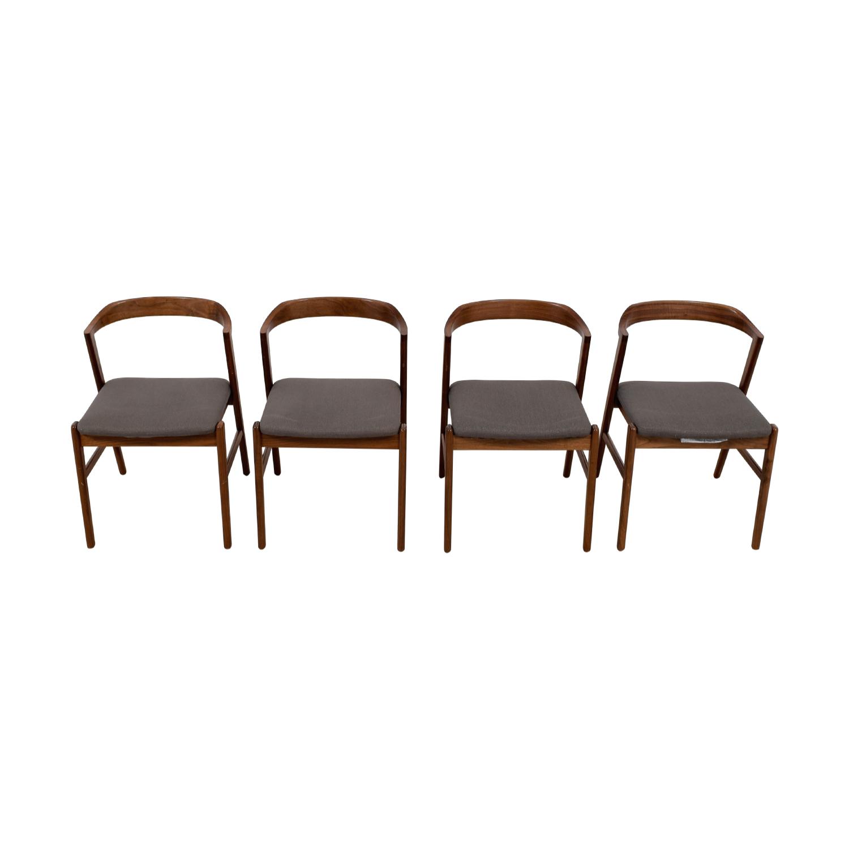 shop Room & Board Jansen Side Chair in Merit Fabric Room & Board Chairs