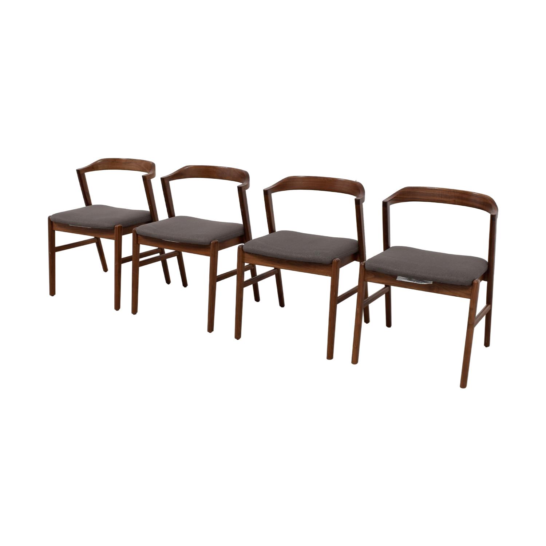 Room & Board Room & Board Jansen Side Chair in Merit Fabric Grey