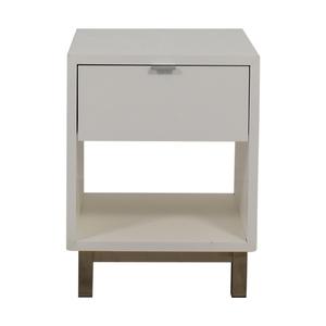 Room & Board Room & Board Copenhagen White Single Drawer Nightstand price
