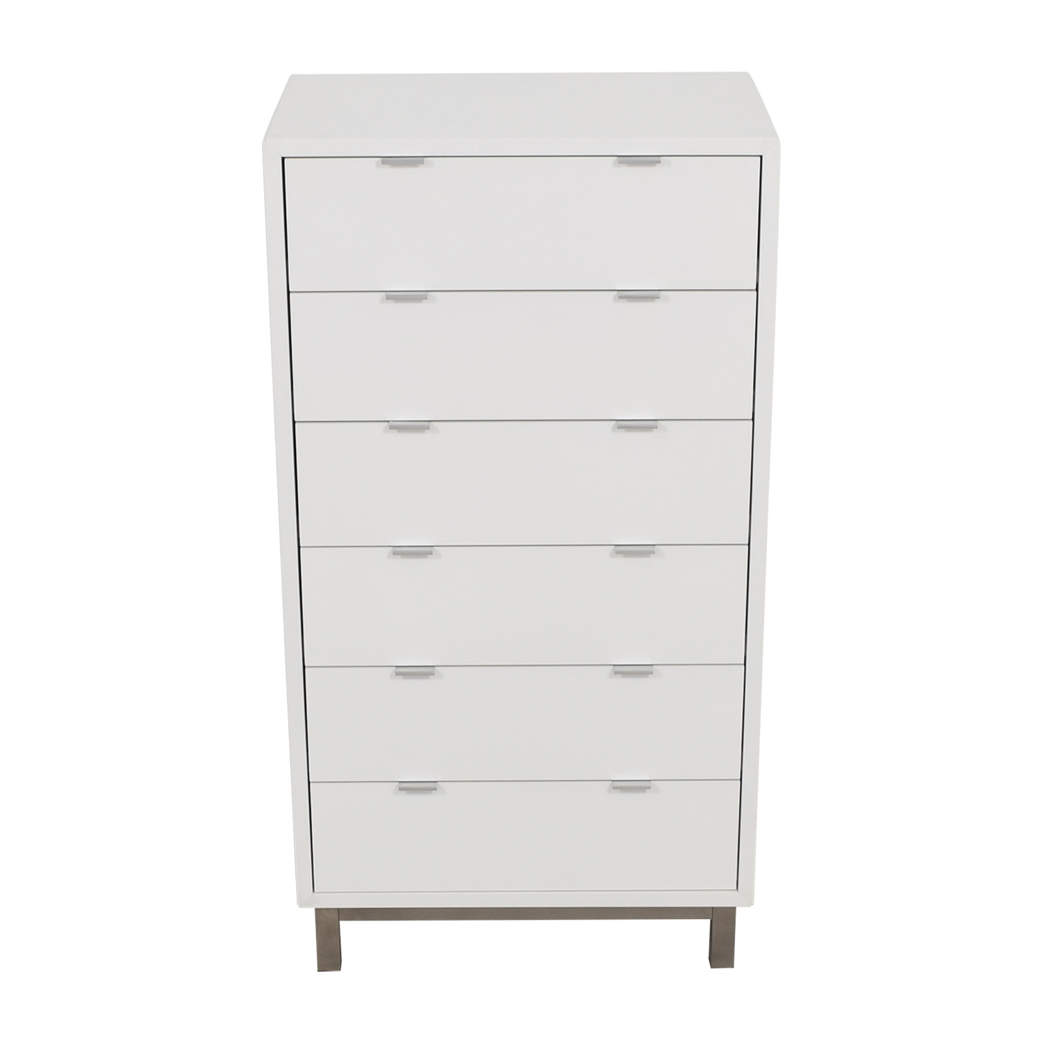 Room & Board Copenhagen White Six-Drawer Dresser Room & Board