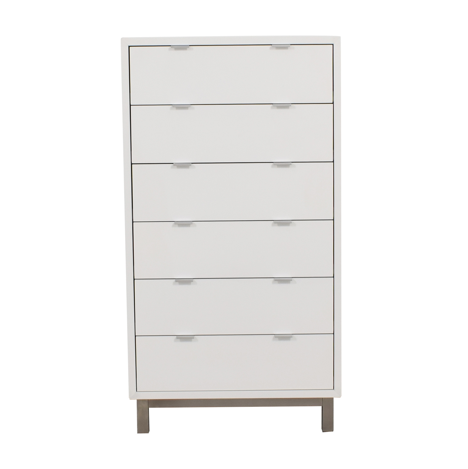 shop Room & Board Room & Board Copenhagen White Six-Drawer Dresser online