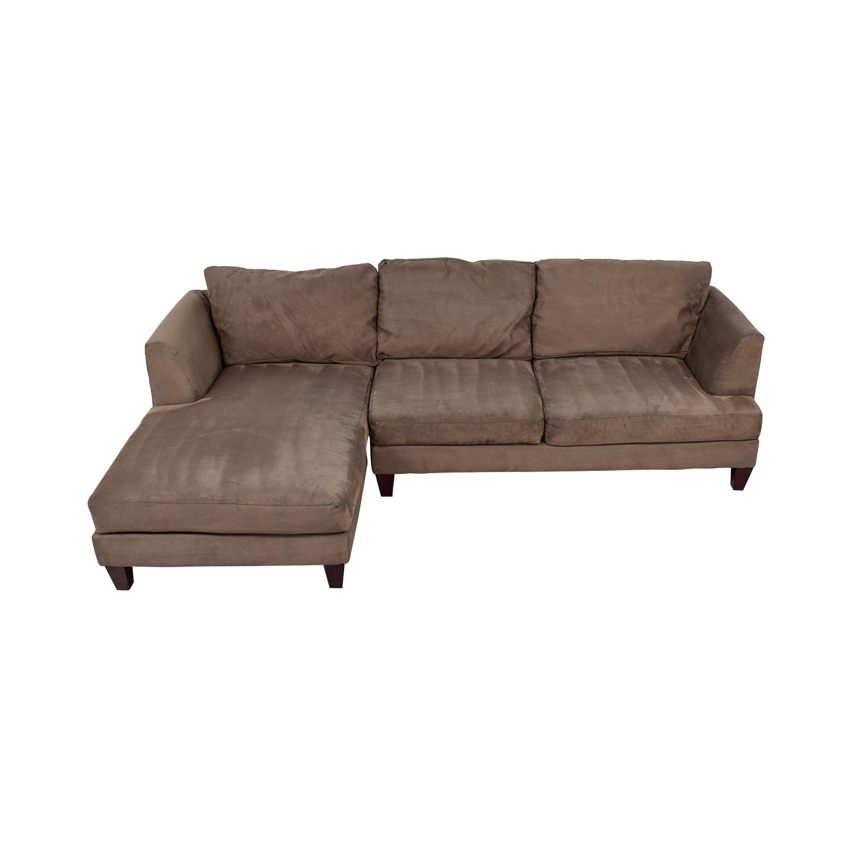 Ordinaire ... Buy Bauhaus Furniture Brown Chaise Sectional Bauhaus Furniture Sofas ...