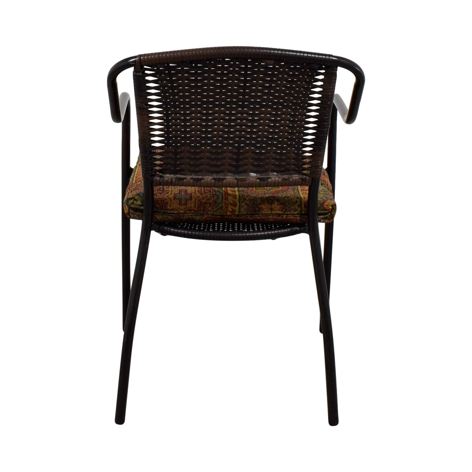 ... Shop Wocker And Metal Chair With Cushion Online ...