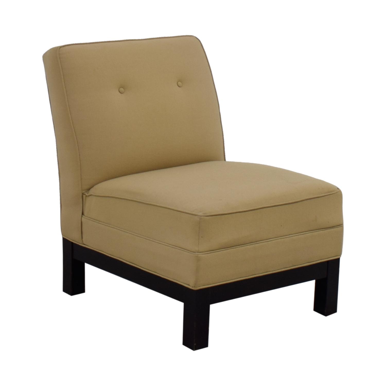 Restoration Hardware Restoration Hardware Beige Lounge Chair