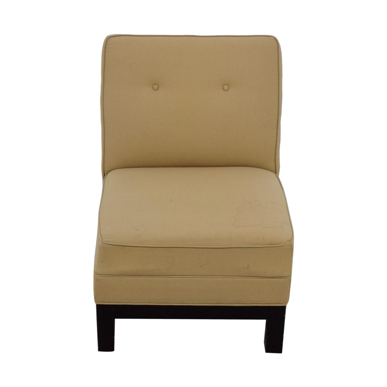 shop Restoration Hardware Beige Lounge Chair Restoration Hardware Chaises