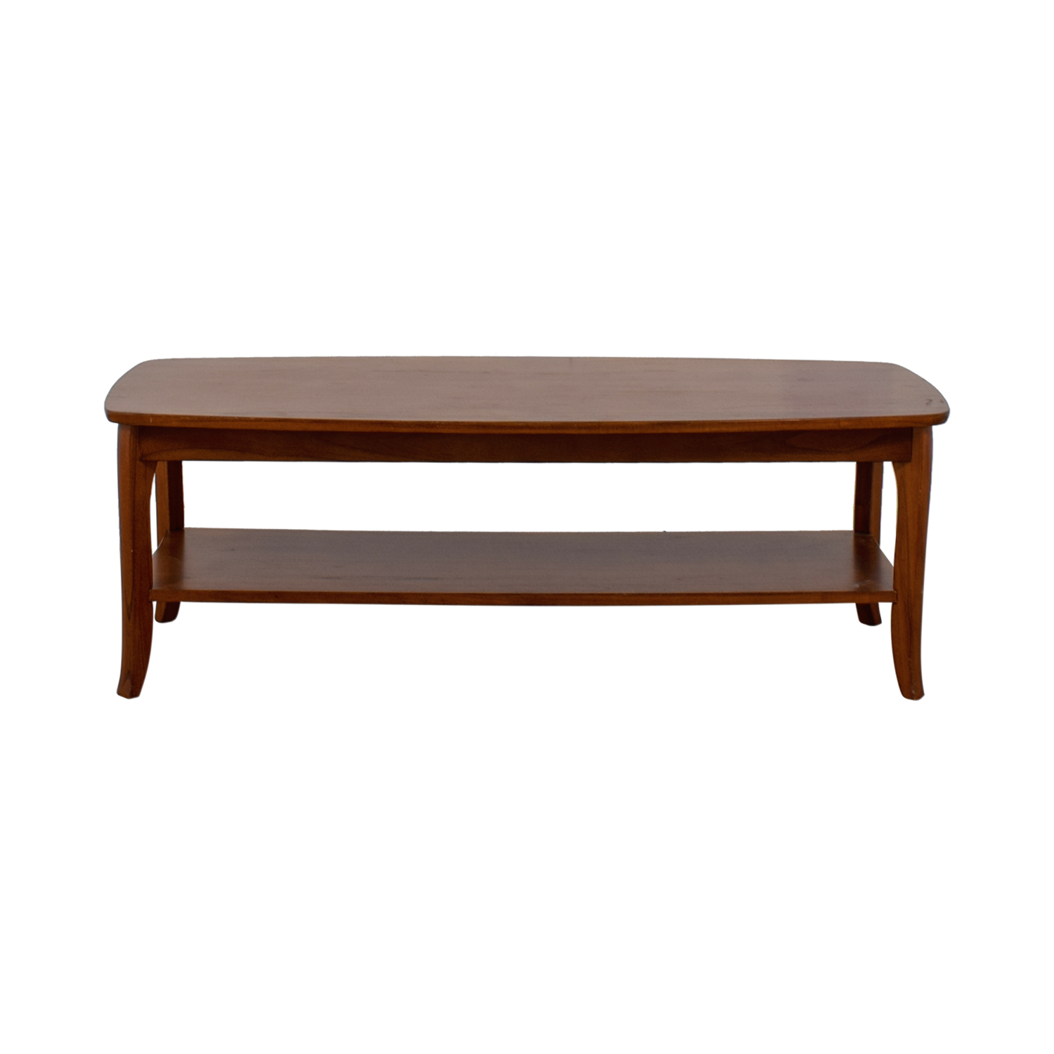 shop Pottery Barn Pottery Barn Wood Rectangular Coffee Table online