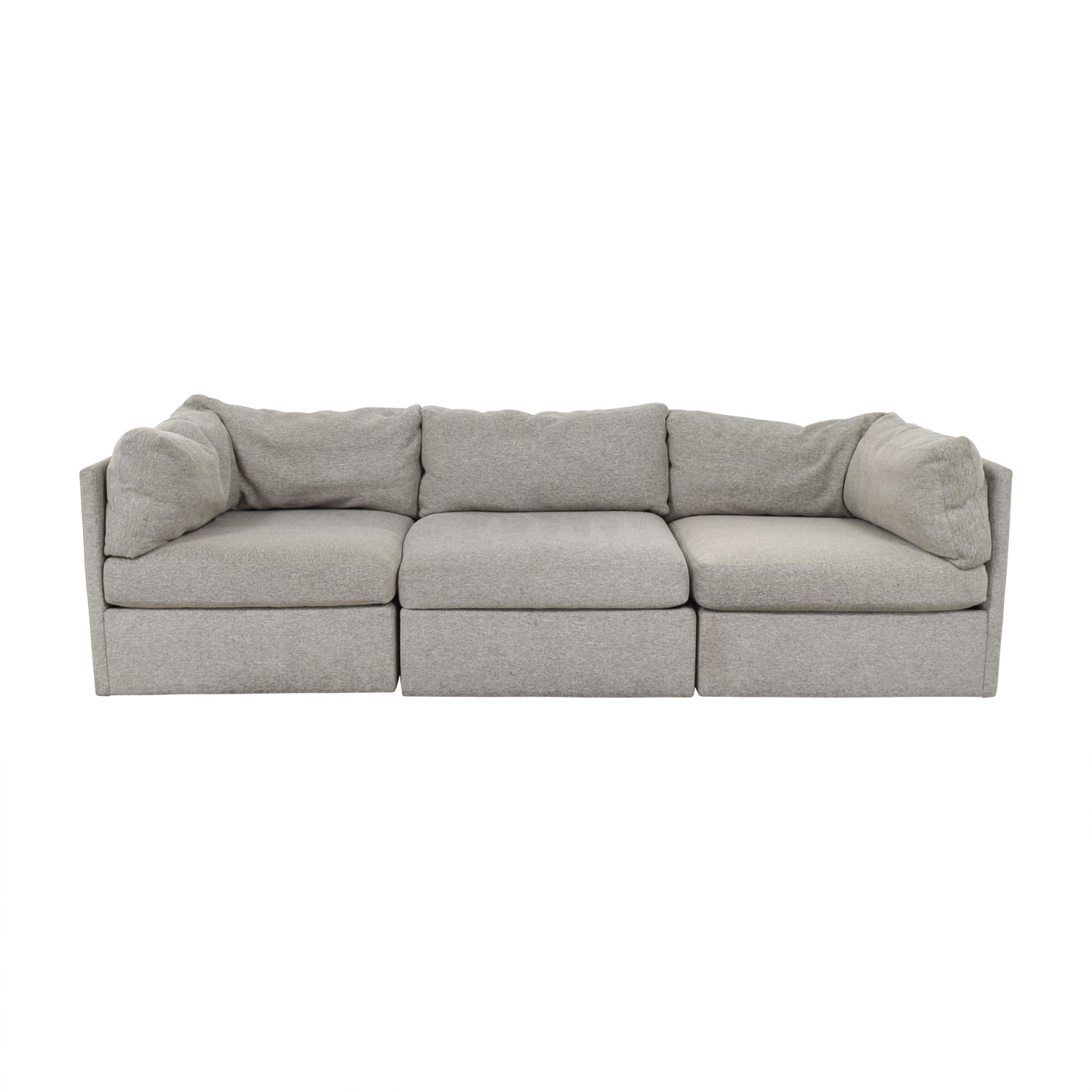 70 Off Chateau D Ax Chateau D Ax Leather Sectional With