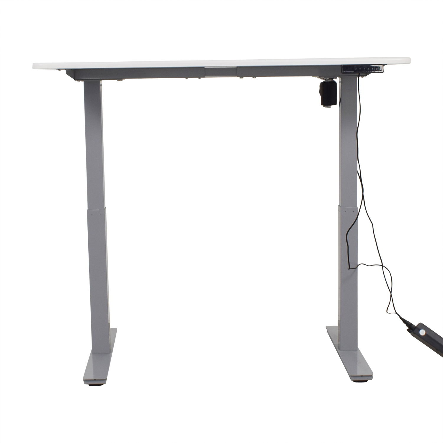 Autonomous Autonomous SmartDesk White and Grey Standing Desk on sale