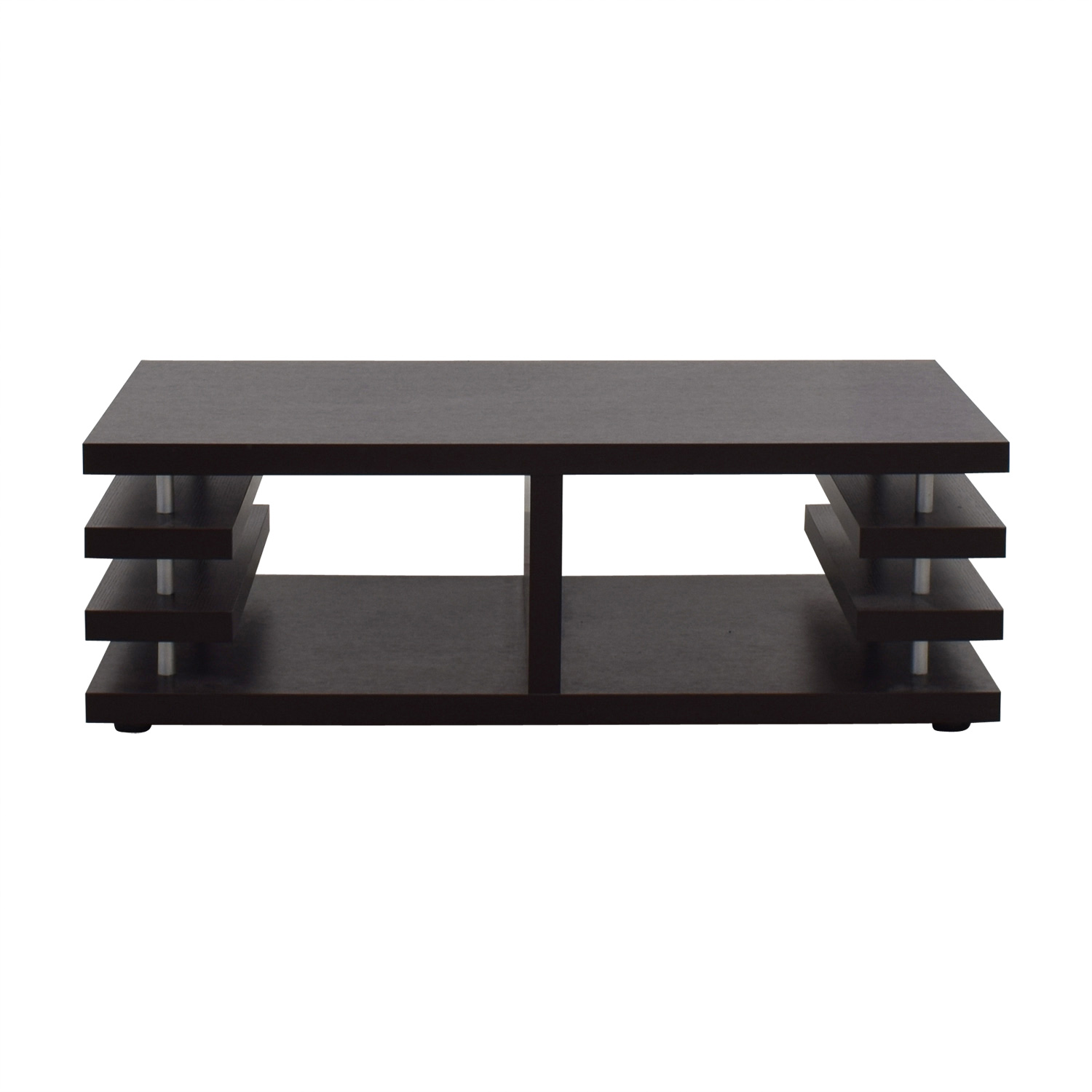 shop  Dark Walnut Multi-Shelf Coffee Table online