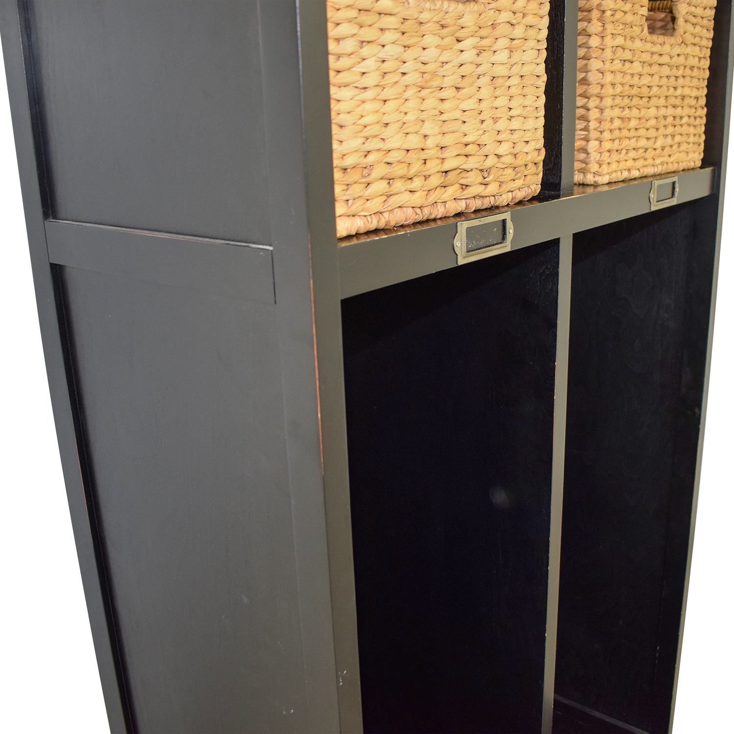 shop Pottery Barn Single Drawer Mud Room Lockers with Wicker Baskets Pottery Barn Dressers