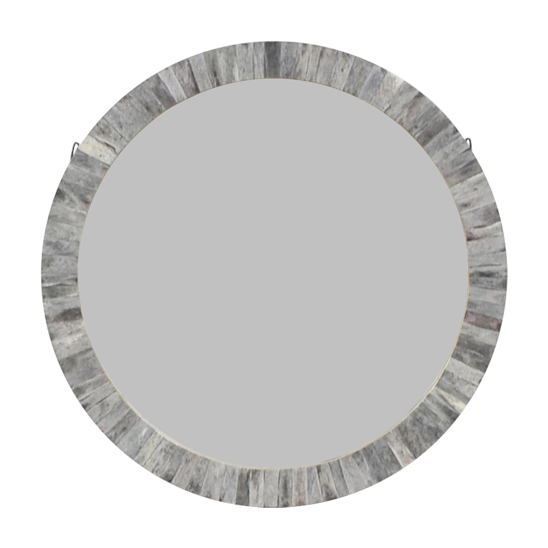 World Market Circular Wall Mirror / Decor