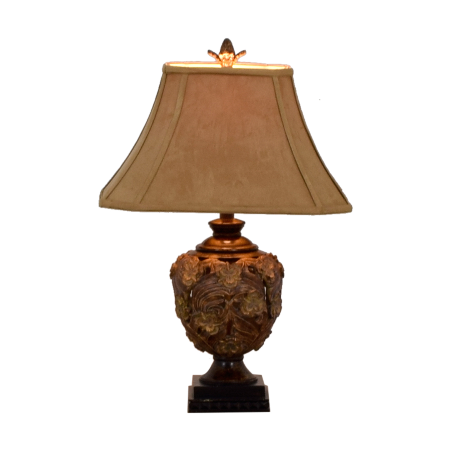 Golden Rose Table Lamp for sale
