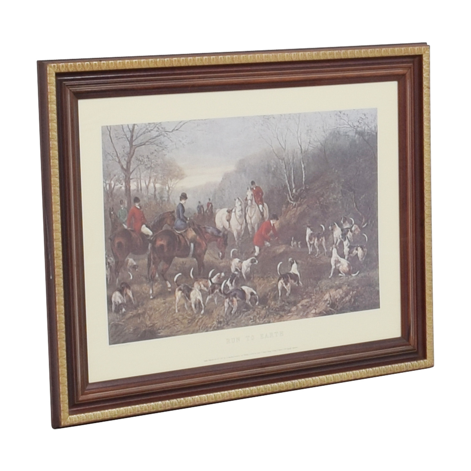 shop Run to Earth Equestrian Frames Print  Decor