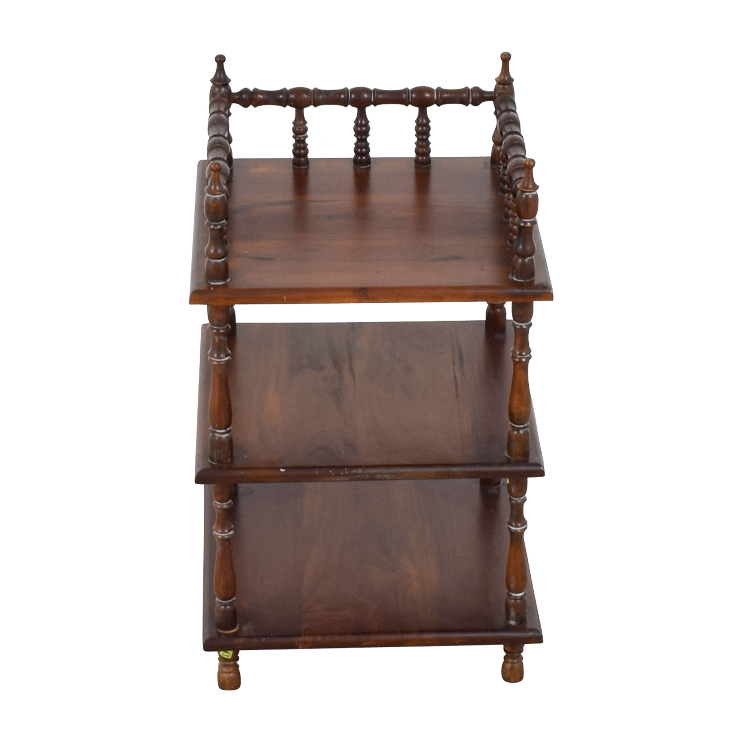 End Table Shelving Unit sale