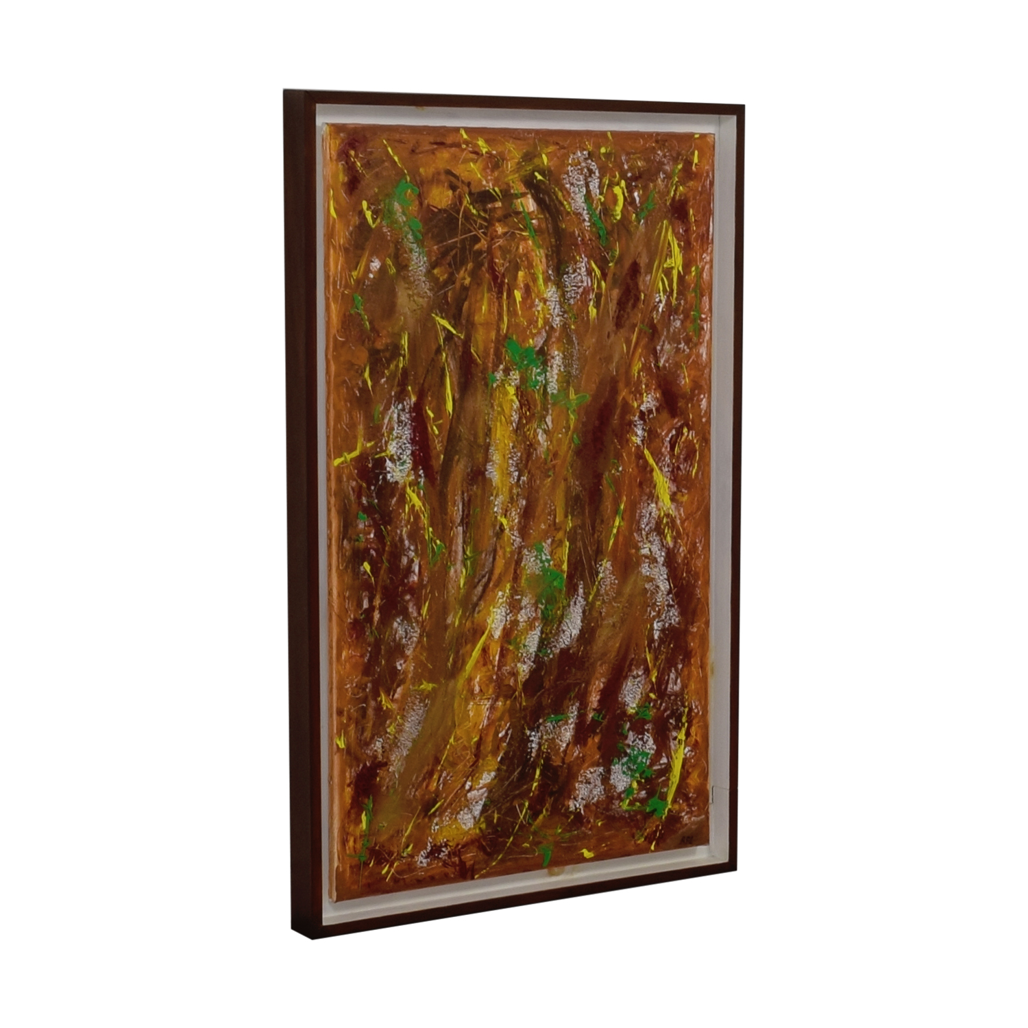Artist R. Limmer Into the Woods by R. Limmer Framed Painting Multi