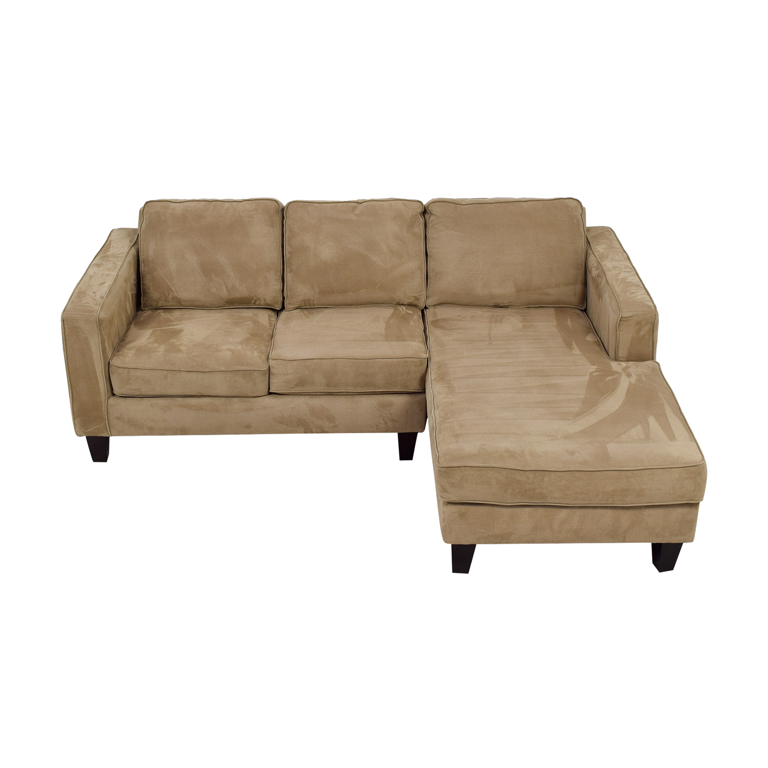shop Pier 1 Tan L-Shaped Sectional Pier 1 Sectionals