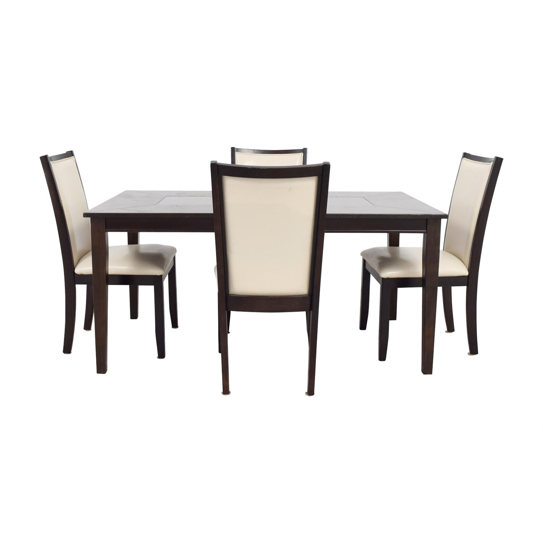 Ashley Furniture Ashley Furniture Trishelle Mohogany Dining Set discount