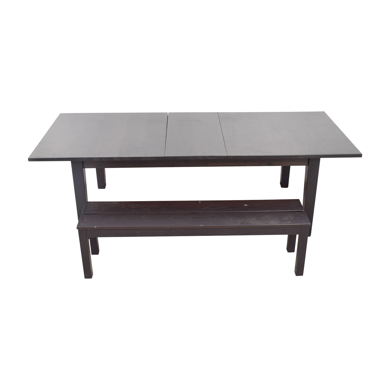 65 Off Ikea Ikea Extendable Dining Room Table With