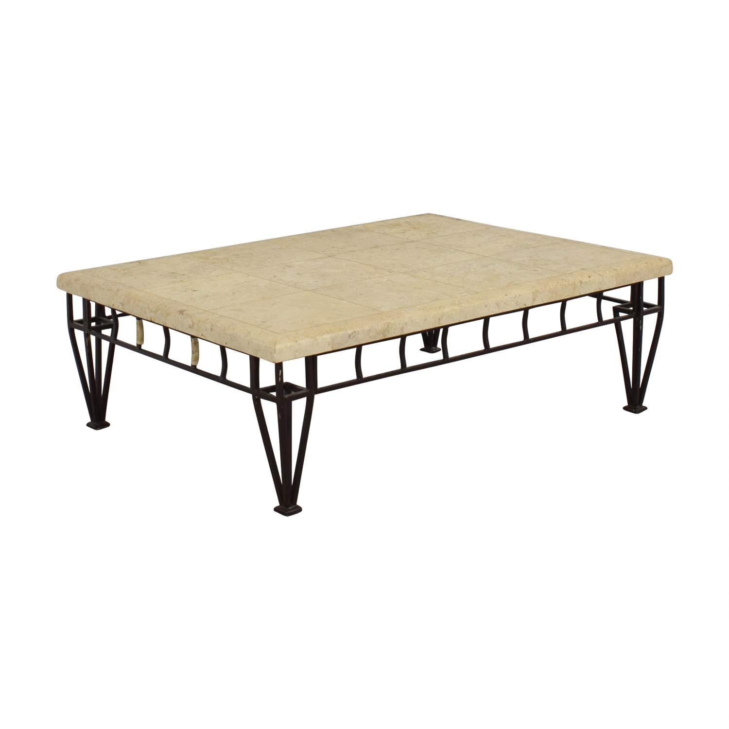 ... Tables; Stone Top Coffee Table Discount ...