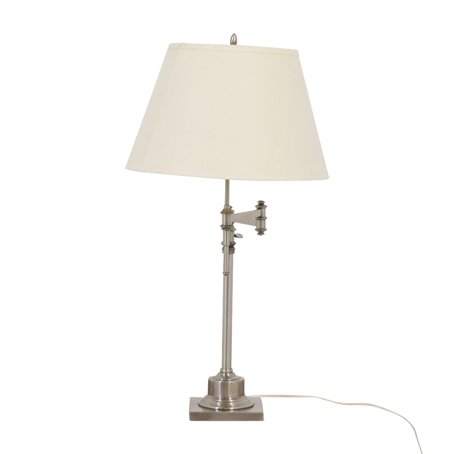 buy Restoration Hardware Library Swing-Arm Table Lamp Restoration Hardware