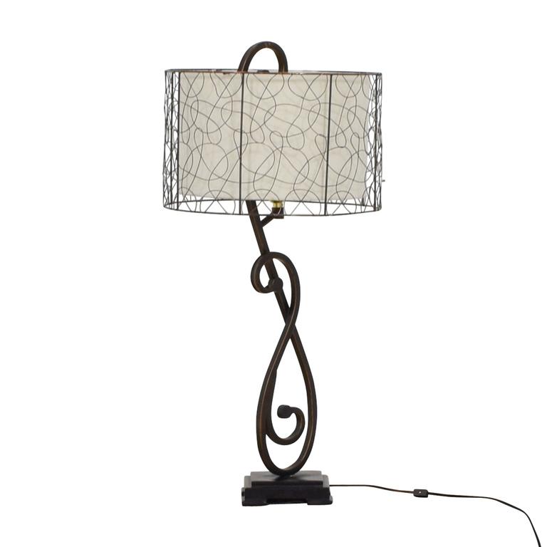 World Market World Market Metal Table Lamp used