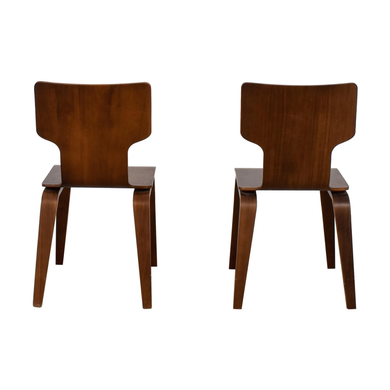buy West Elm Stackable Veneer Chairs West Elm Chairs