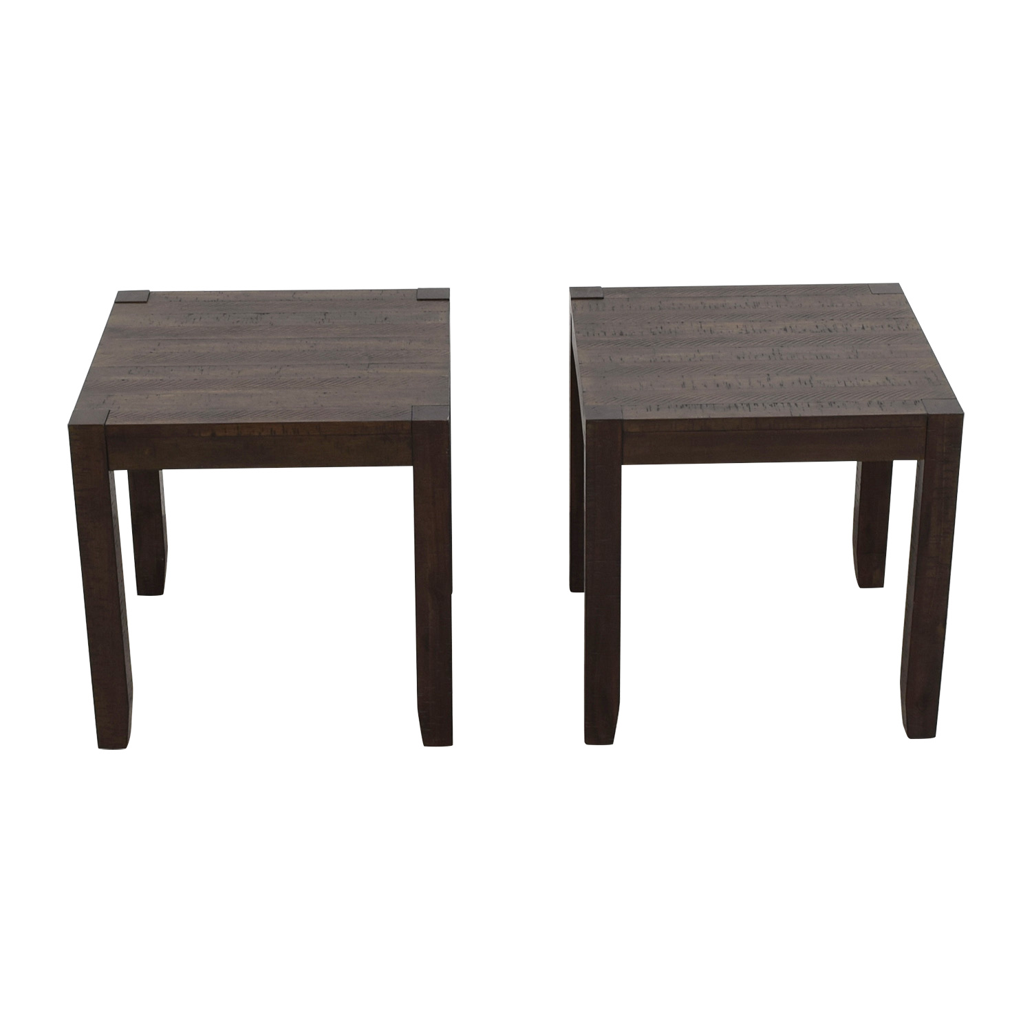 Bob S Furniture Brown End Tables For