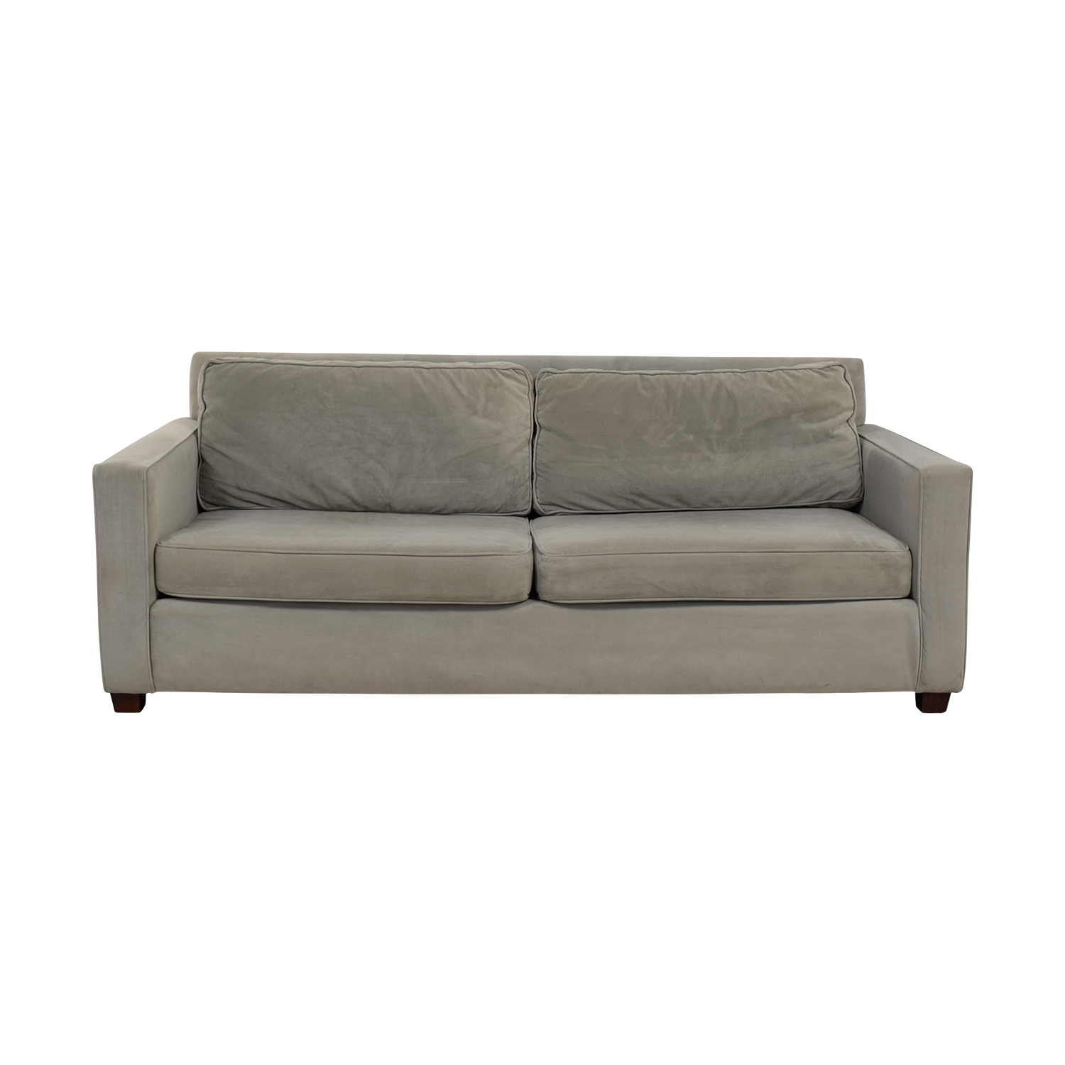 West Elm West Elm Henry Dove Grey Two-Cushion Sofa nyc