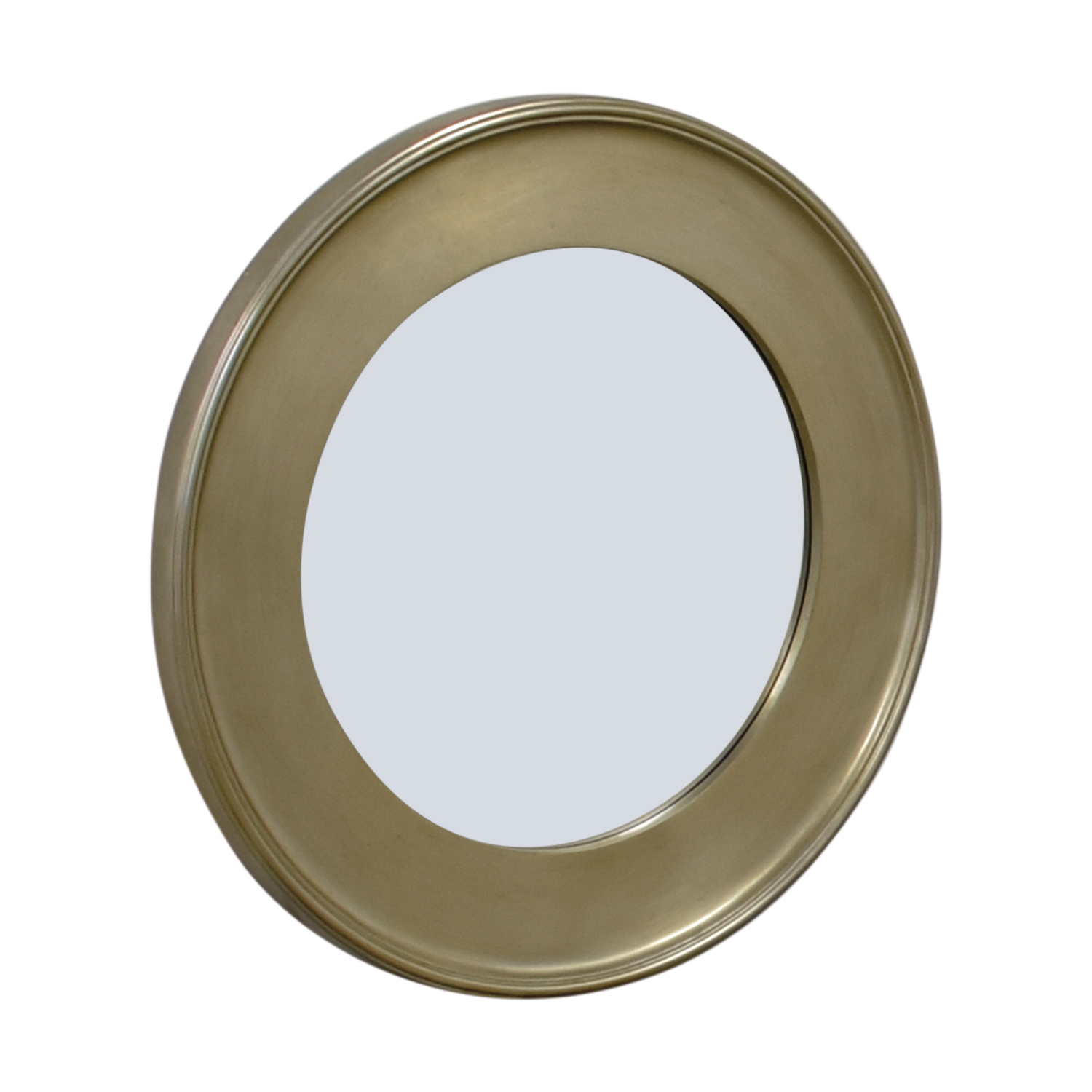 Bassett Round Silver Leaf Wall Mirror / Decor