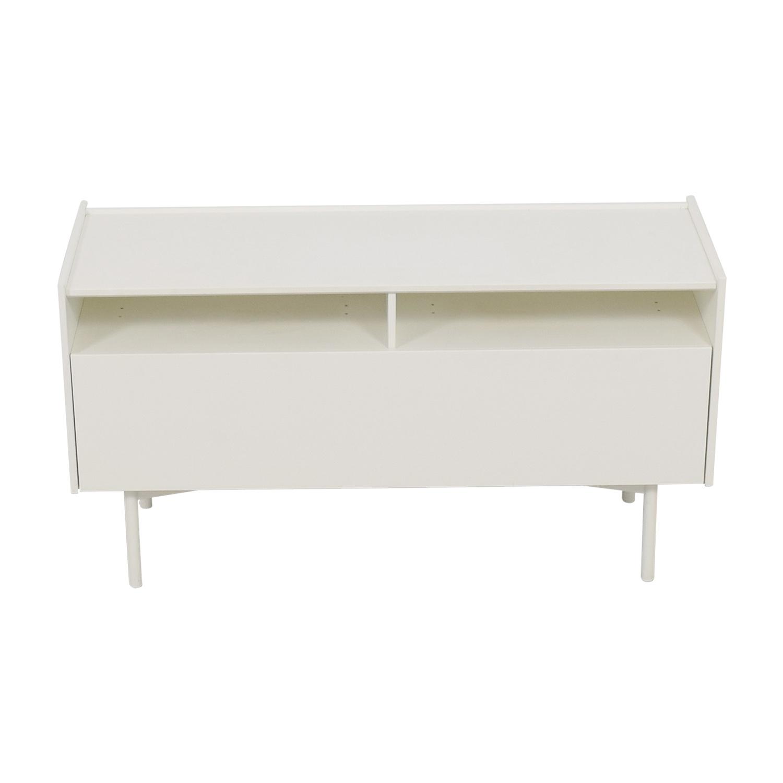 buy IKEA White Shelf Media Console IKEA Media Units