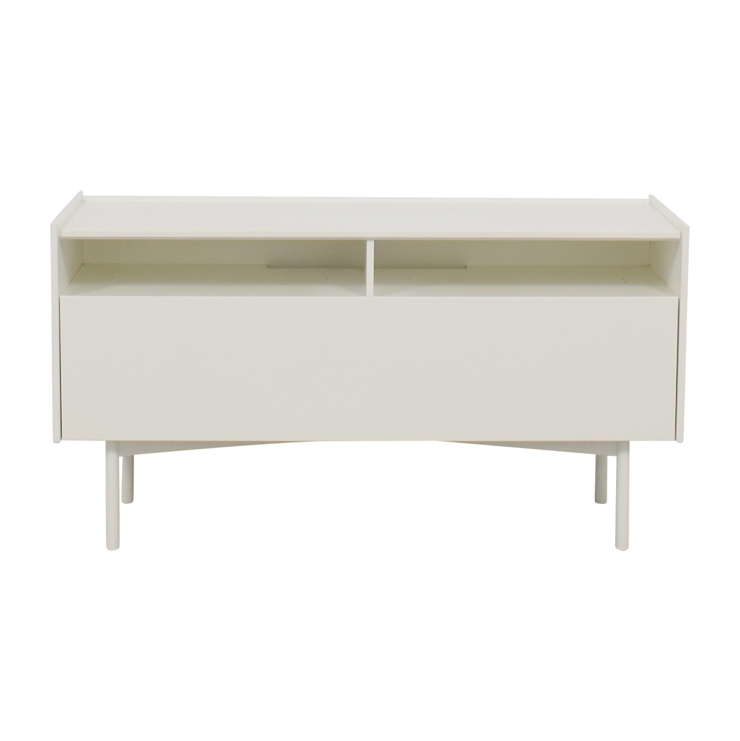 buy IKEA White Shelf Media Console IKEA Storage