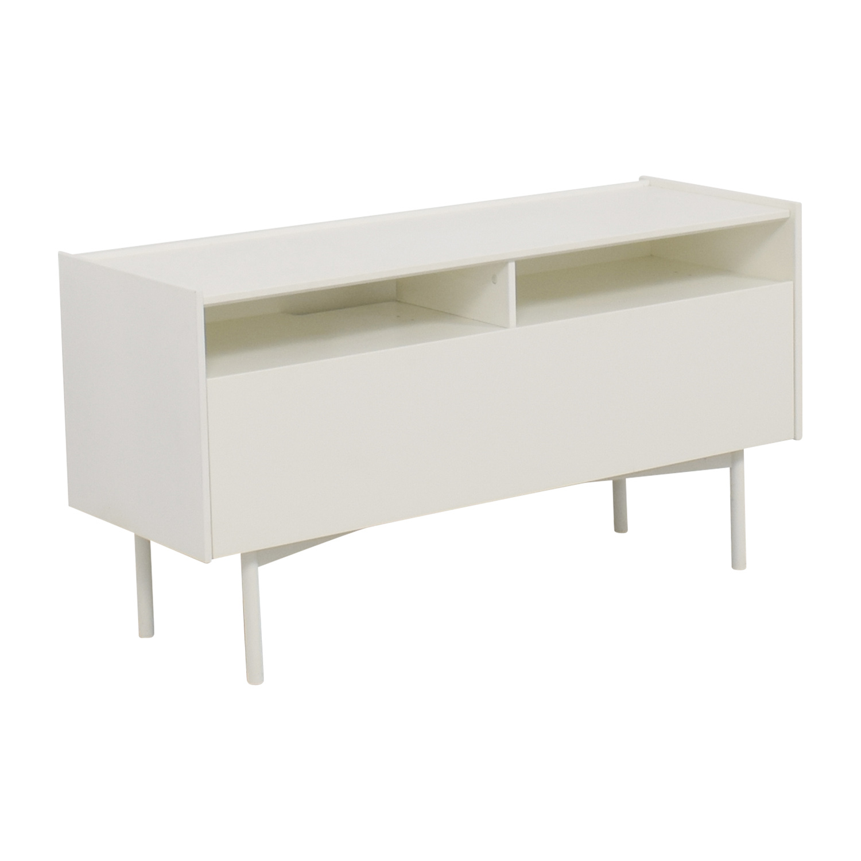 Ikea White Shelf Media Console