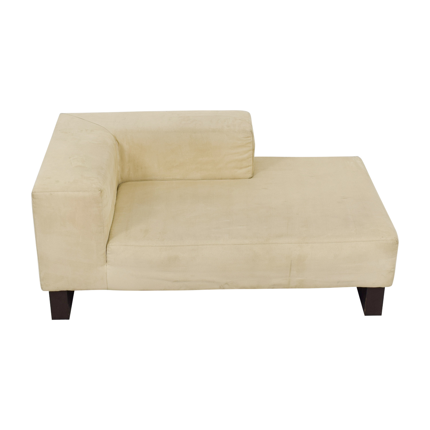 West Elm Beige Chaise West Elm