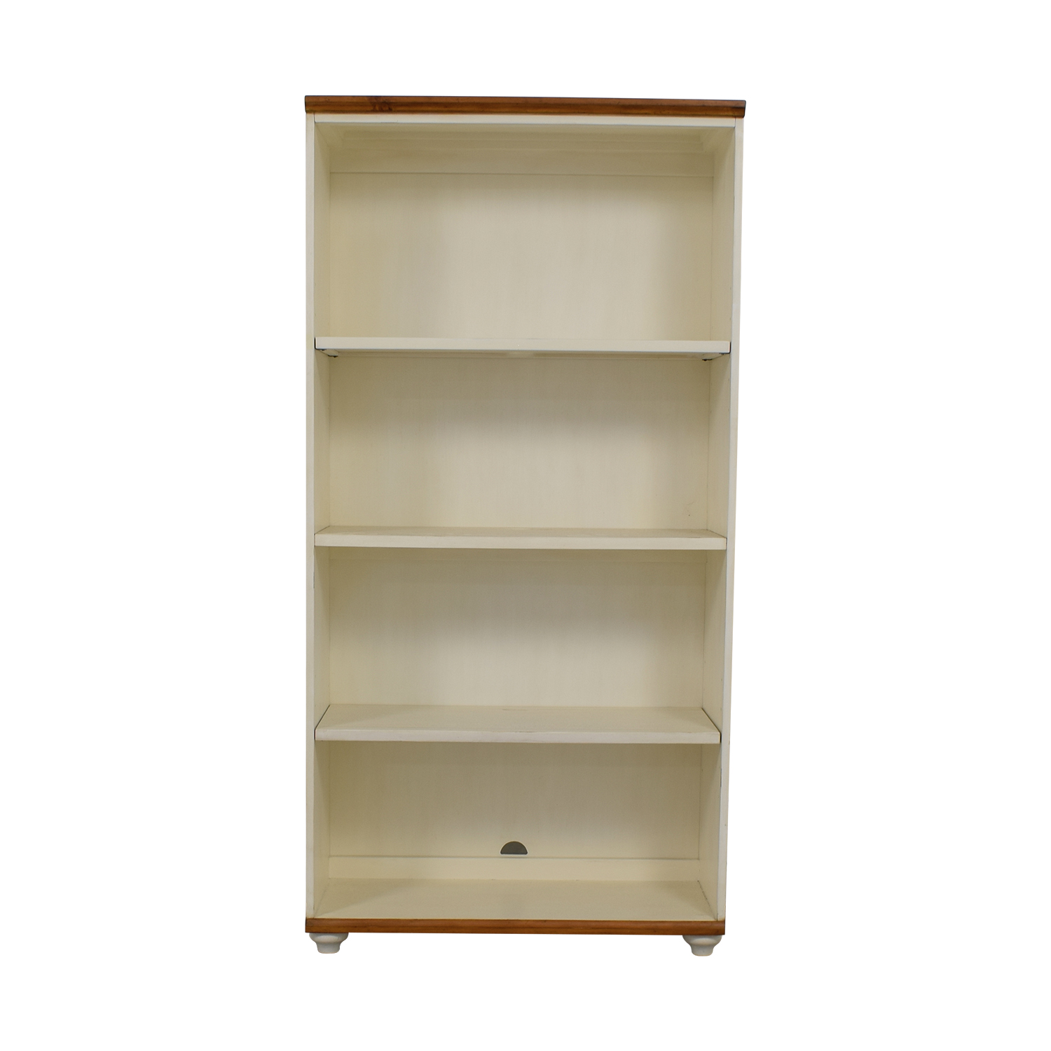 48 Off Pottery Barn Pottery Barn Whitney White Bookcase Storage