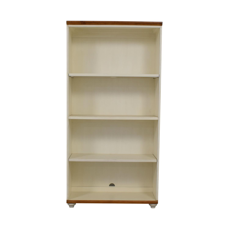 Pottery Barn Whitney White Bookcase / Bookcases & Shelving