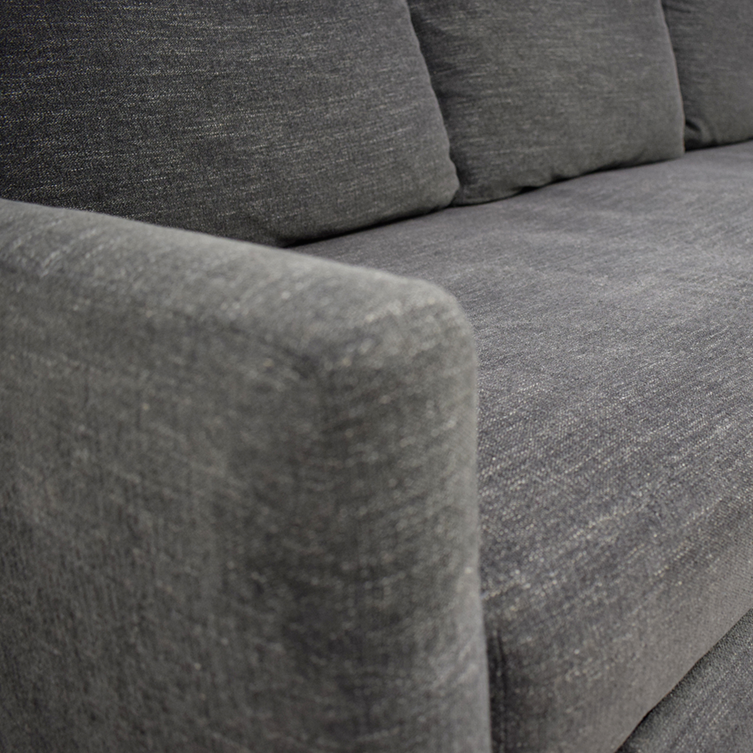 Crate & Barrel Crate & Barrel Reston Grey Queen Trundle Sleeper Sofabed dimensions