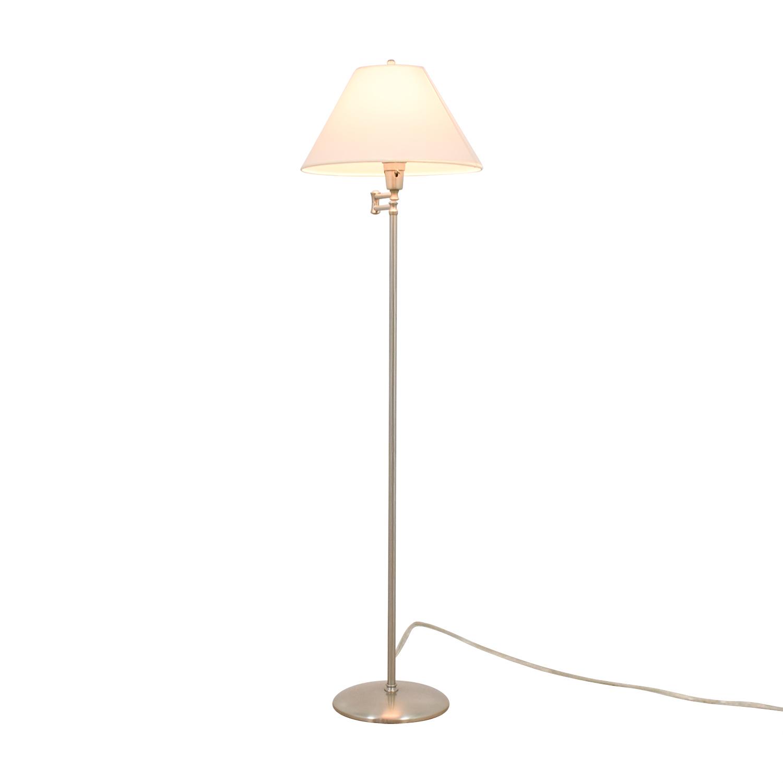 Restoration Hardware Chrome Floor Lamp / Lamps