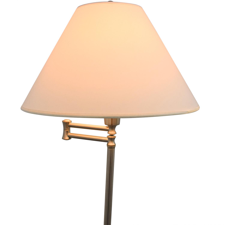 55 Off Restoration Hardware Chrome Floor Lamp Decor