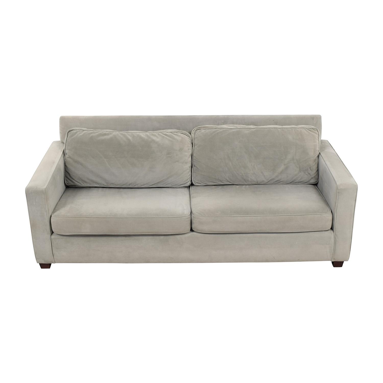 Tissus Colbert Tissus Colbert Grey Two-Cushion Sofa price